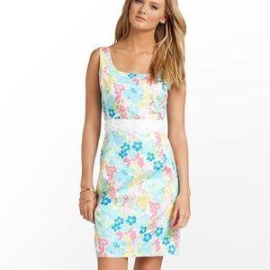 Lilly Pulitzer Serena Dress Spring Fling floral 12